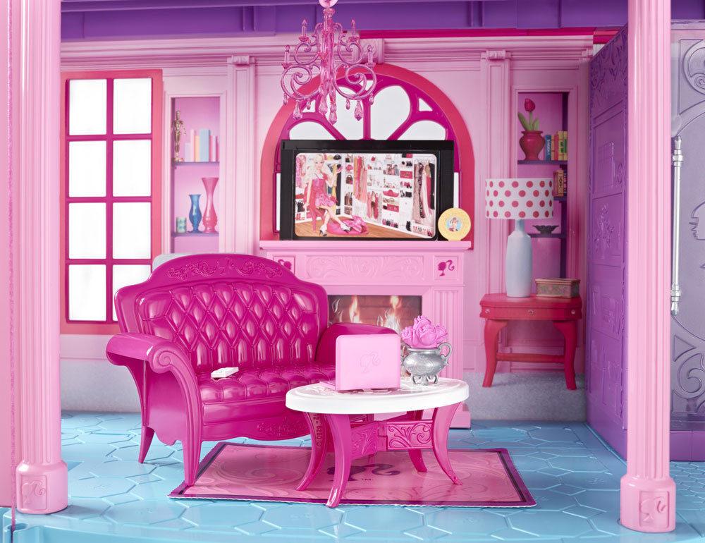 Картинки комнаты барби куклы