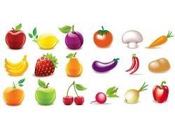 Овощи фрукты картинки 3