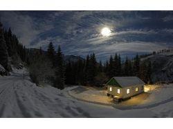 Фото зима вечер