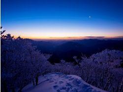 Фото зима вечер 5