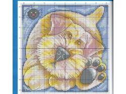 Вышивки крестиком картинки животные 5