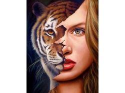 Новогодний тигр прикольные картинки
