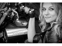 Мотоциклы фото девушки