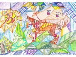 Рисунок лета 6
