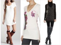 Модные туники фото зима