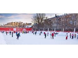 Фото зима москва