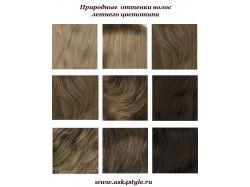 Цвет волос для цветотипа осень фото