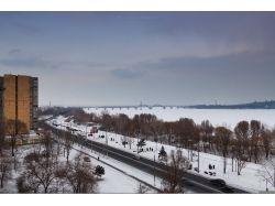 Река днепр фото зима