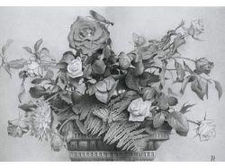 Красивые цветы рисунки