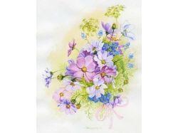 Красивые цветы рисунки 6