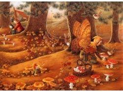 Сказочная осень картинки