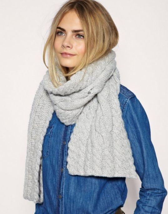 вязание спицами шарфа снуда различные схемы и рисунки скачать