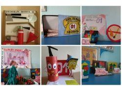 Поделки рисунки на тему пожарной безопасности