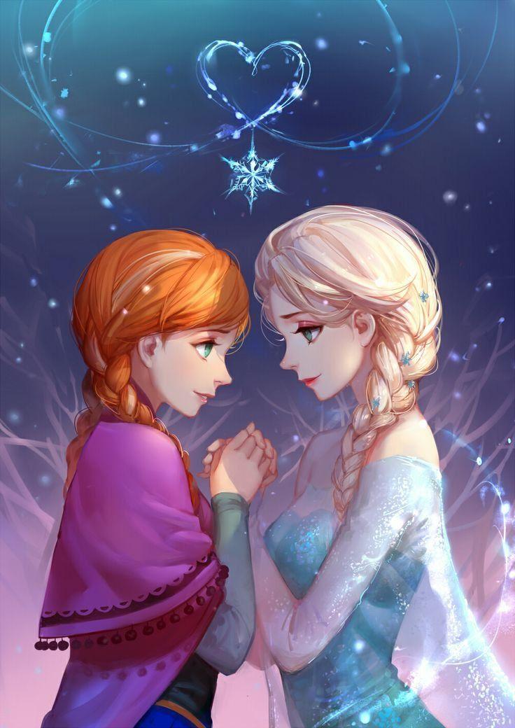 Красивые картинки эльзы из холодного сердца