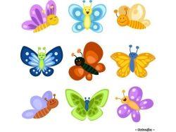 Бабочки картинки для детей для презентации