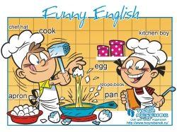 Картинки профессии для детей на английском языке