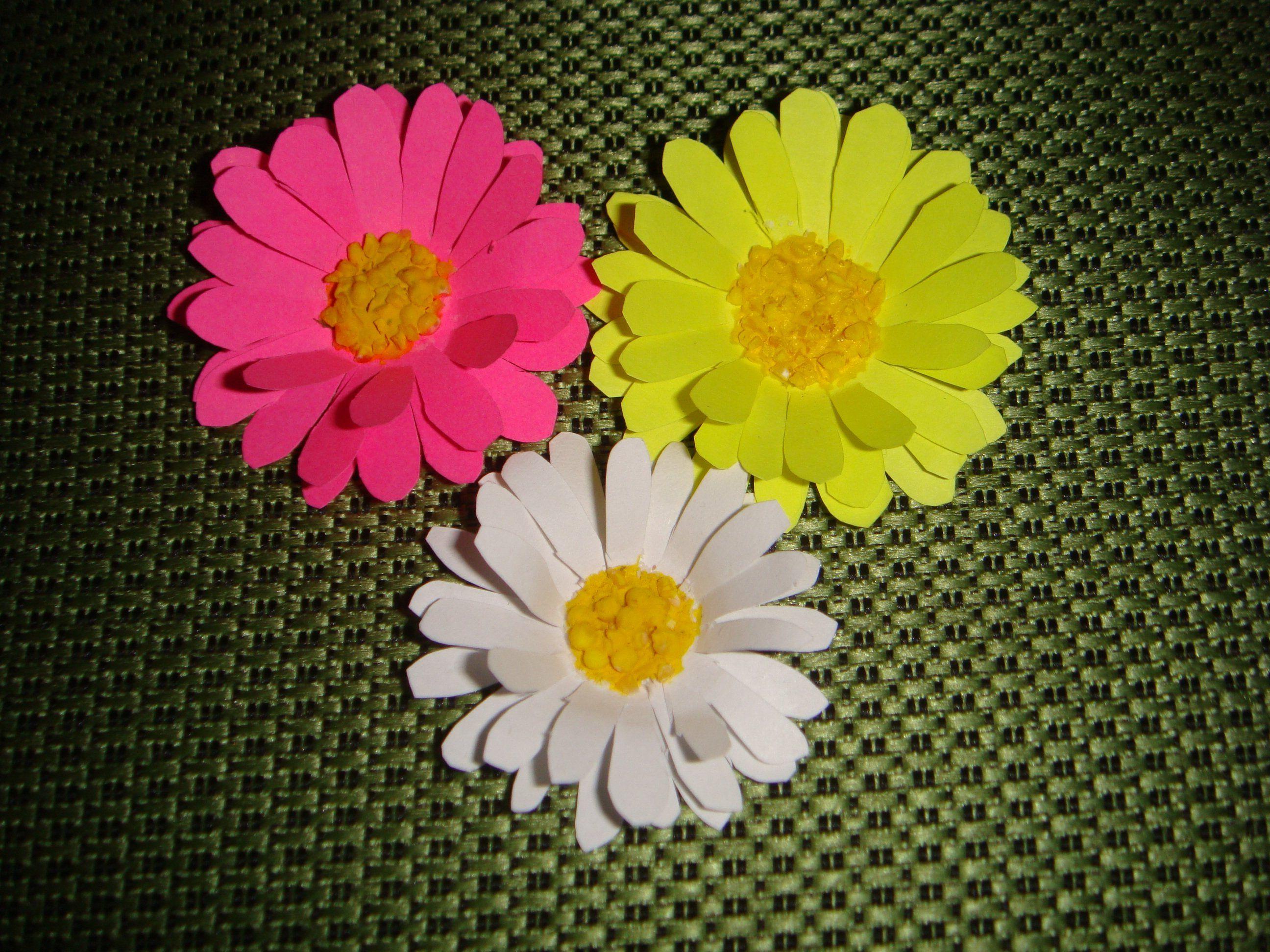 Поделки цветы картинки
