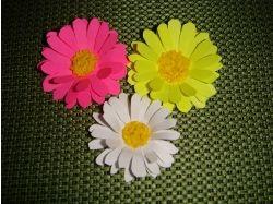 Цветы из бумаги поделки картинки