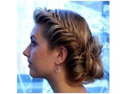 Картинки красивые косички на густые средние волосы 2