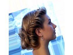Картинки красивые косички на густые средние волосы 4