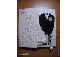 Свадебная открытка своими руками фото 1