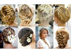 Плетение на средние волосы фото 3