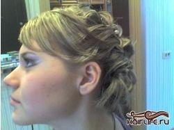 Плетение на средние волосы фото 4