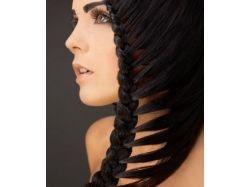 Плетение на средние волосы фото 5