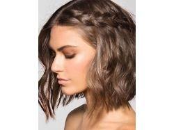 Плетение на средние волосы фото 6