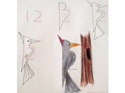Прикольные рисунки зайца 2