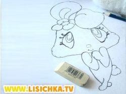 Прикольные рисунки зайца 3