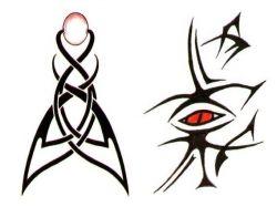 Прикольные рисунки тату 4