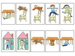 Картинки для детей употребление предлогов 1