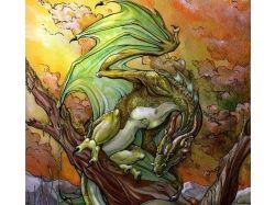 Картинки злых драконов красивые 6