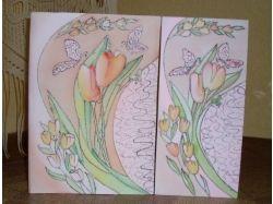 Оригинальные открытки сделанные своими руками фото