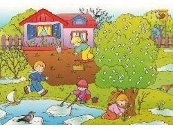 Картинки весна для детей | детское развитие 6