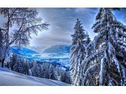 Красивые пейзажи зимы картинки