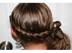 Плетение кос с пошаговым фото 2