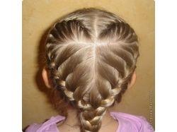 Плетение кос с пошаговым фото 3