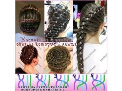 Плетение кос с пошаговым фото 4