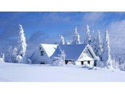 Красивые обои зима рабочий стол