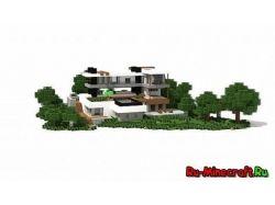 Скачать картинки красивых домов в стиле модерн 1