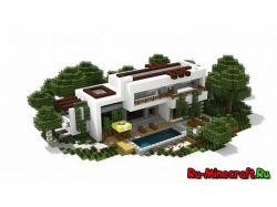 Скачать картинки красивых домов в стиле модерн 2