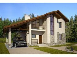 Скачать картинки красивых домов в стиле модерн 5