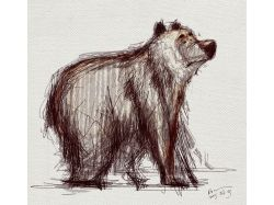 Батик рисунки животных 2