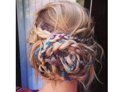 Фото красивое плетение кос 3
