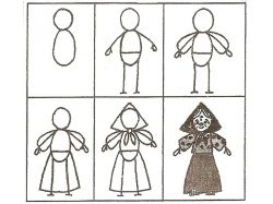 Картинки для рисования точкками для детей 3