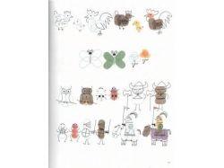 Картинки для рисования точкками для детей 6