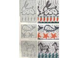 Детские рисунки для вязания спицами 4