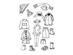 Лепка одежды и обуви для детей картинки 2
